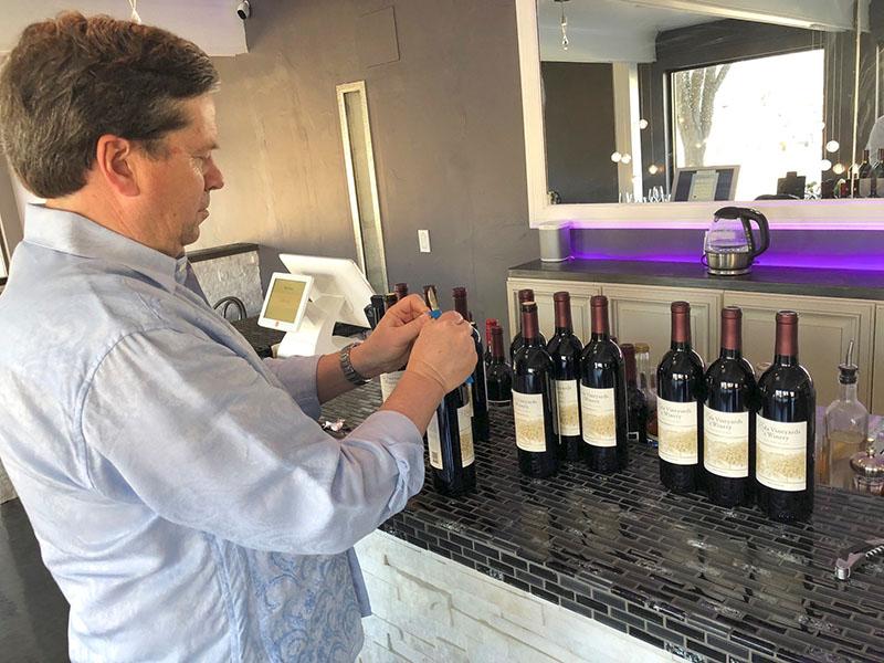 Opening wines